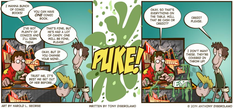 I Hate My Kids:  Just One Comic