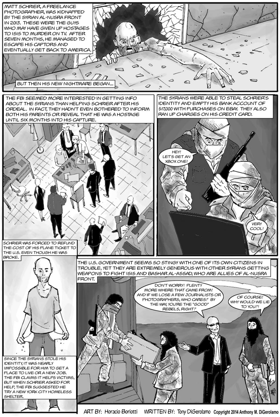 The Antiwar Comic:  The Budget Doesn't Include You