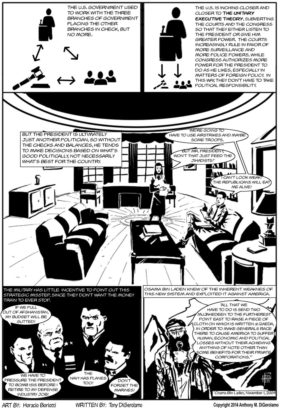 The Antiwar Comic:  The Inherent Weakness