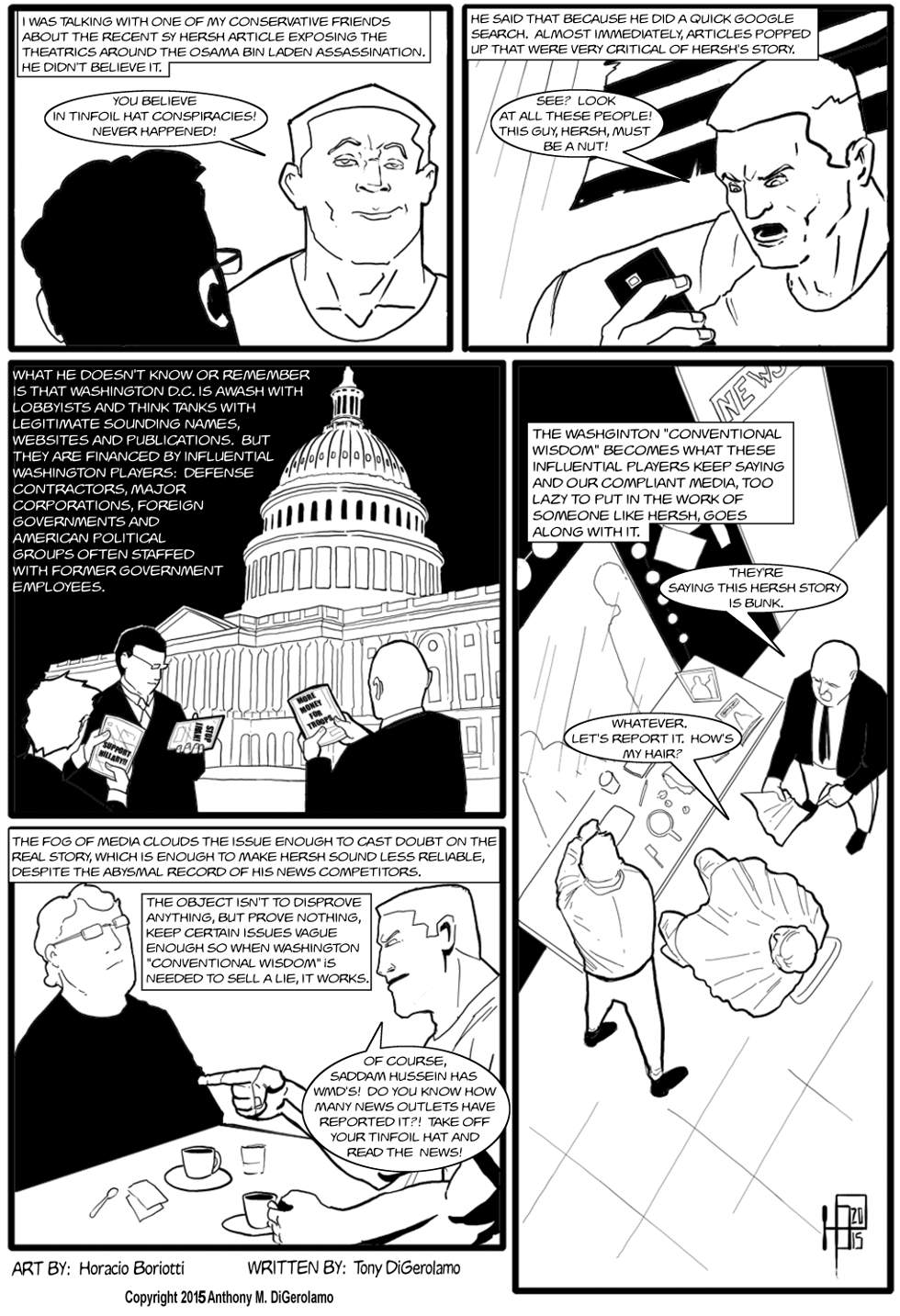 The Antiwar Comic:  Smear Job