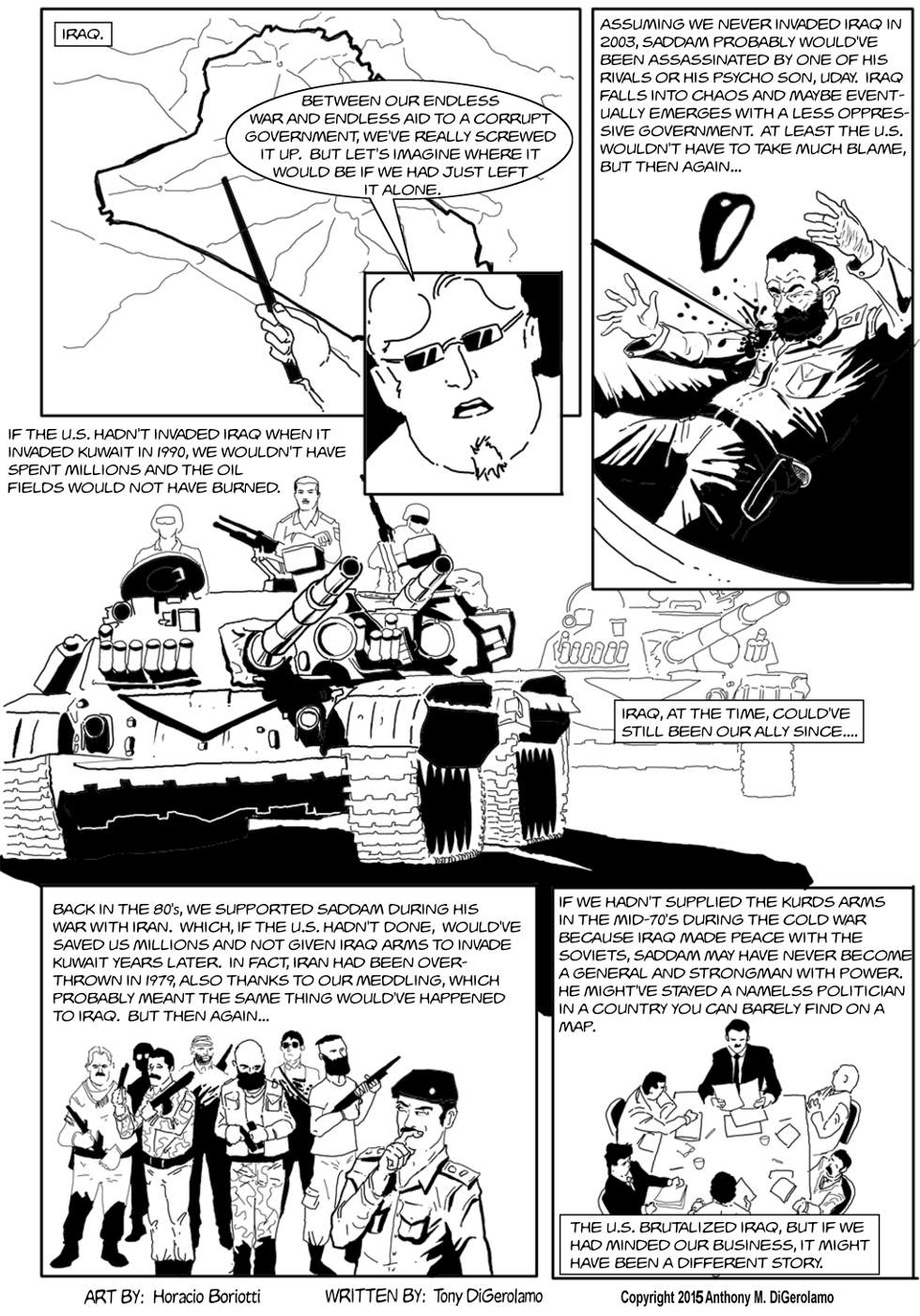 The Antiwar Comic:  The Other Path