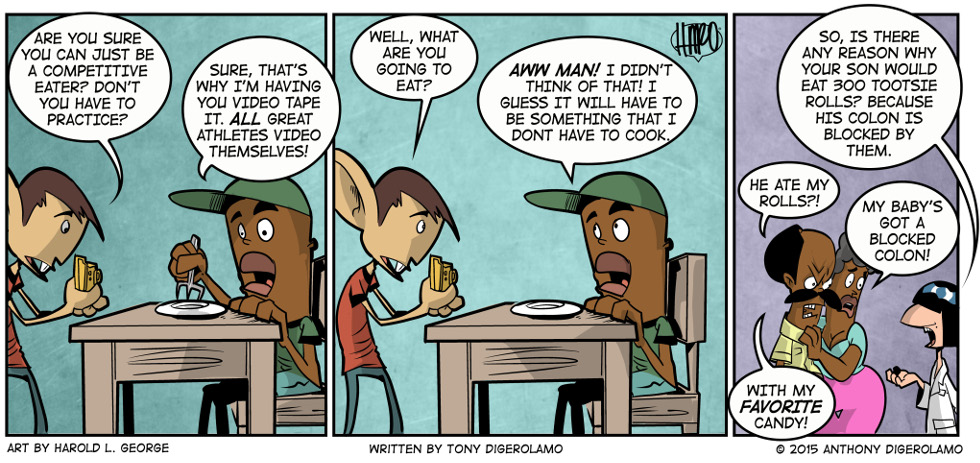 I Hate My Kids:  Competitive Eater
