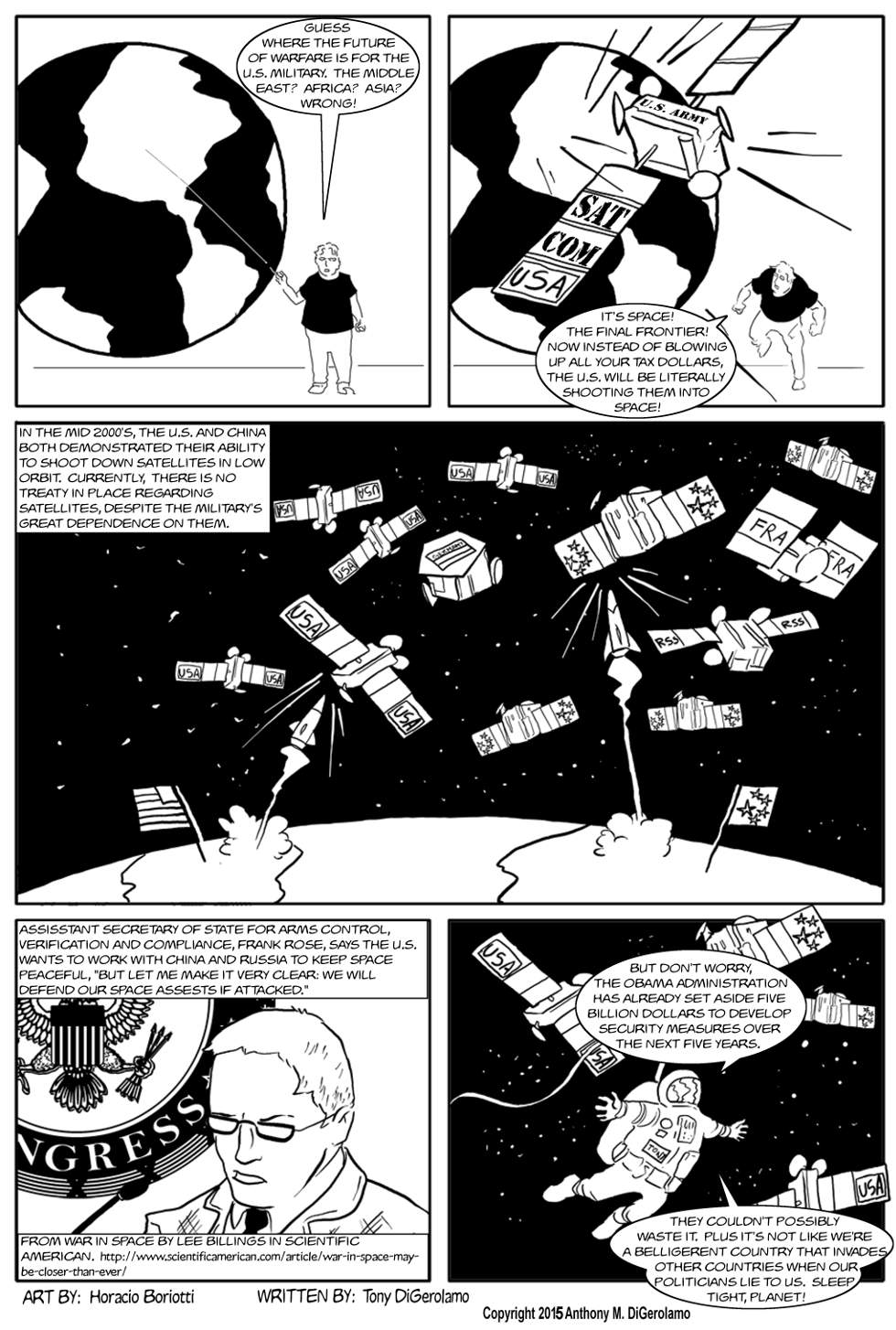The Antiwar Comic:  The Real Star Wars