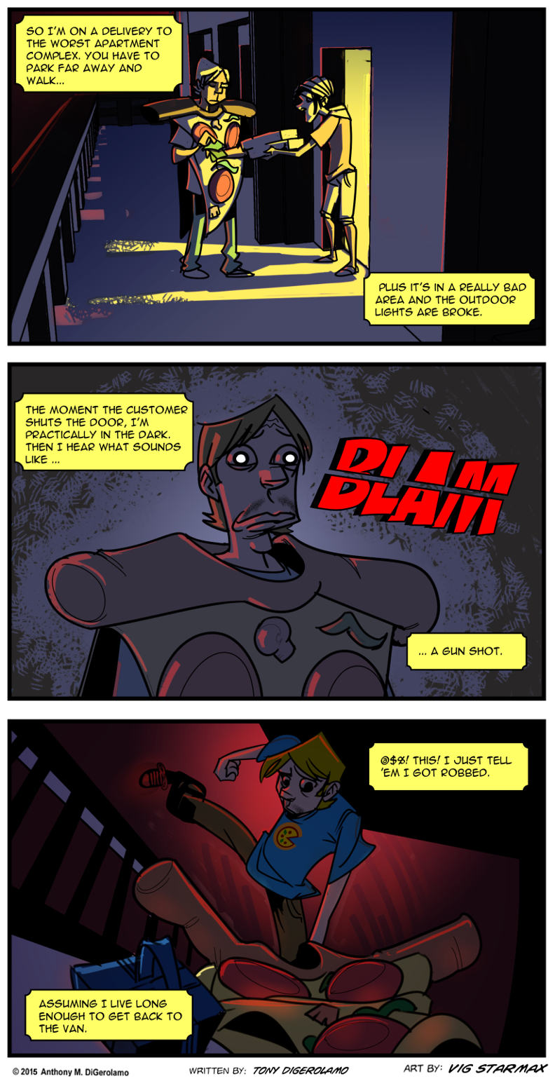 Tales of Pizza:  The Dark Delivery