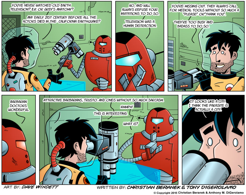 Intergalactic Medical Doctor:  The Surprise Inside