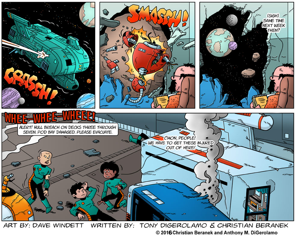 Intergalactic Medical Doctor:  Asteroid Crisis