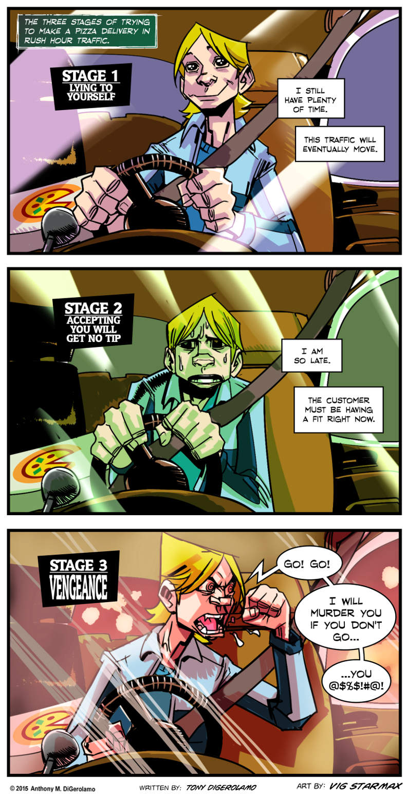 Tales of Pizza:  Pizza Rush Hour