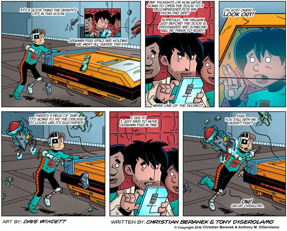 Intergalactic Medical Doctor:  Zero Gravity Miss