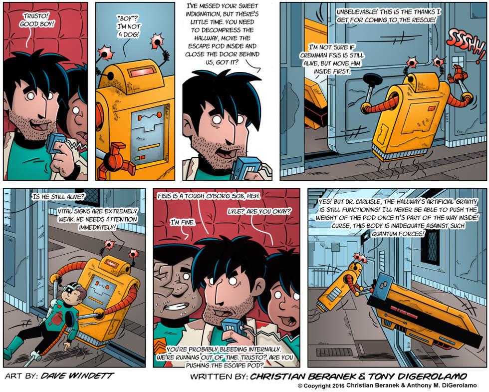 Intergalactic Medical Doctor:  Robot Push