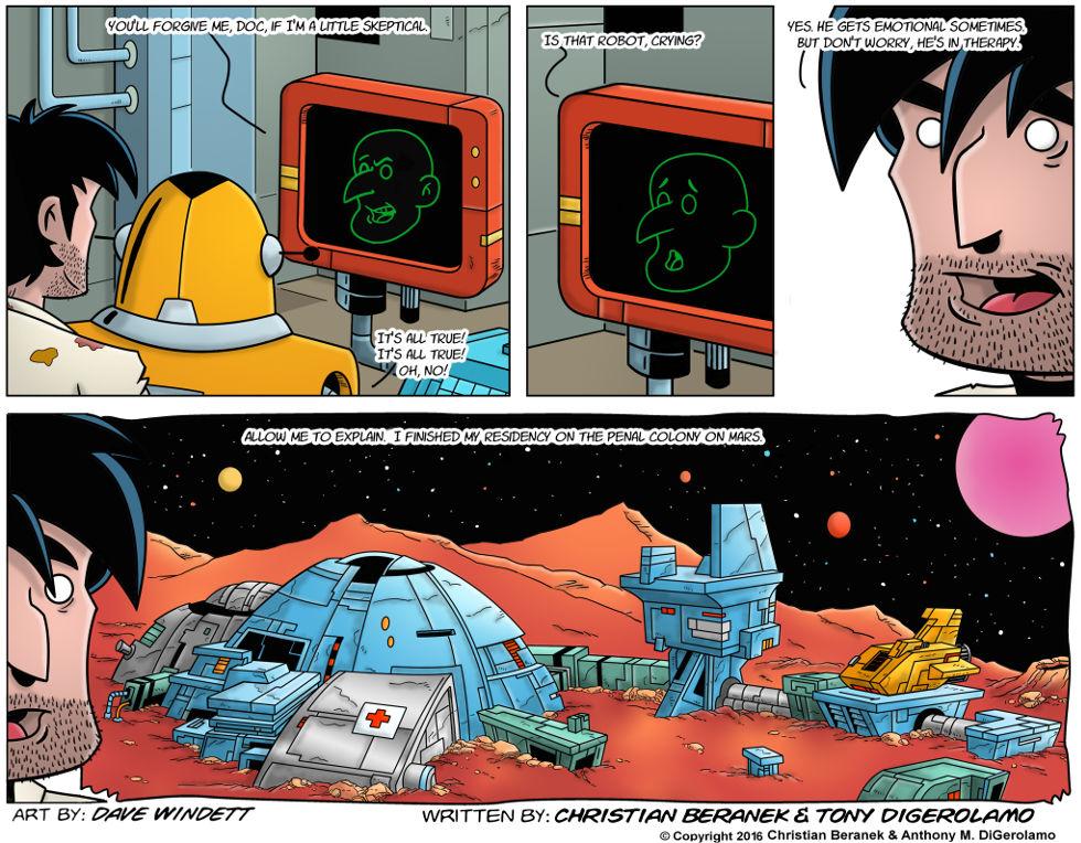 Intergalactic Medical Doctor:  Mars Residency