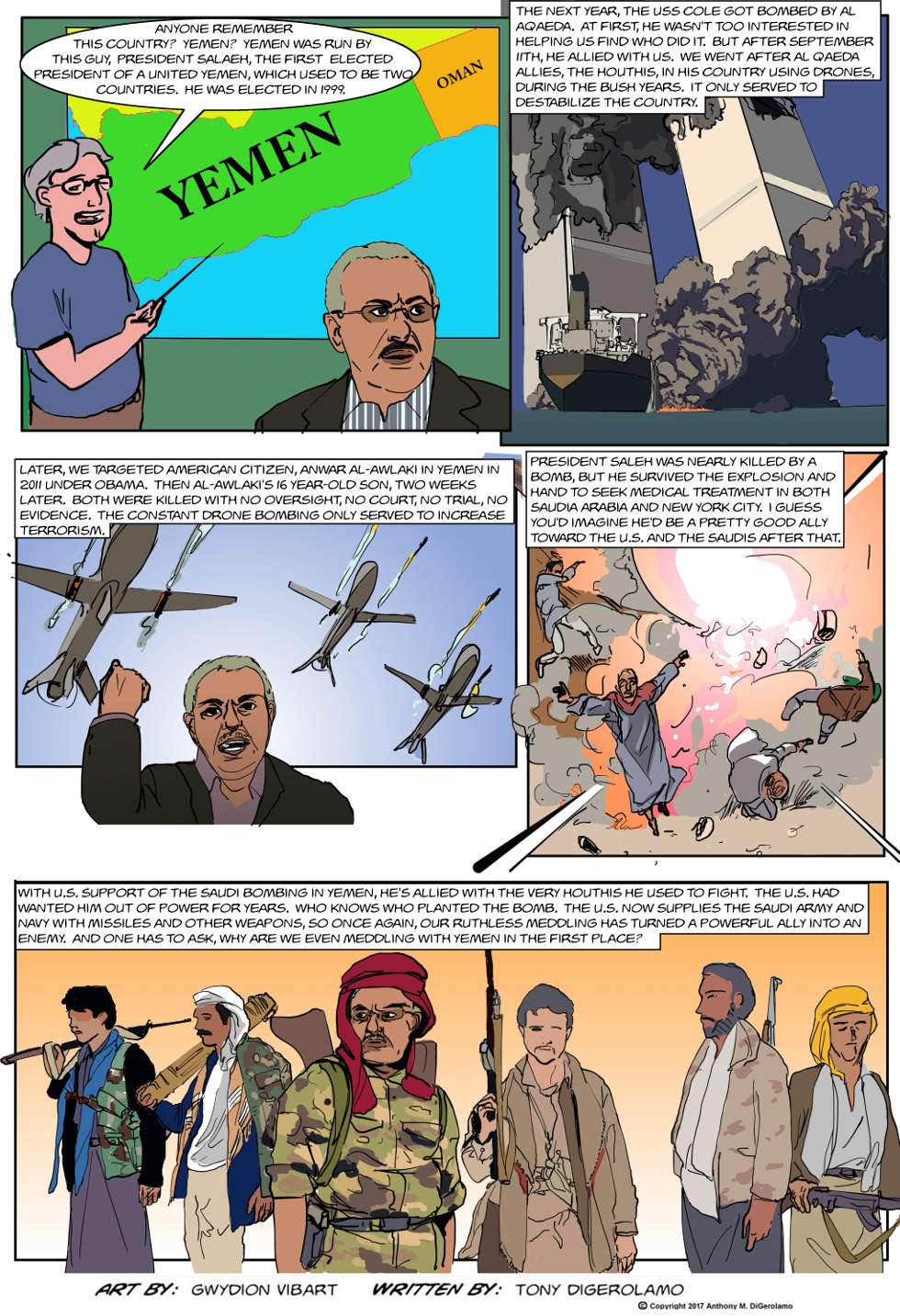 The Antiwar Comic:  Why Yemen?