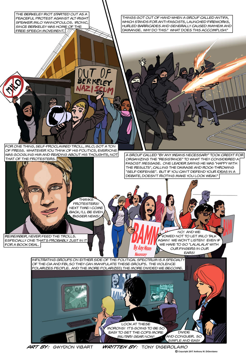 The Antiwar Comic:  Never Let a Manufactured Crisis Go to Waste
