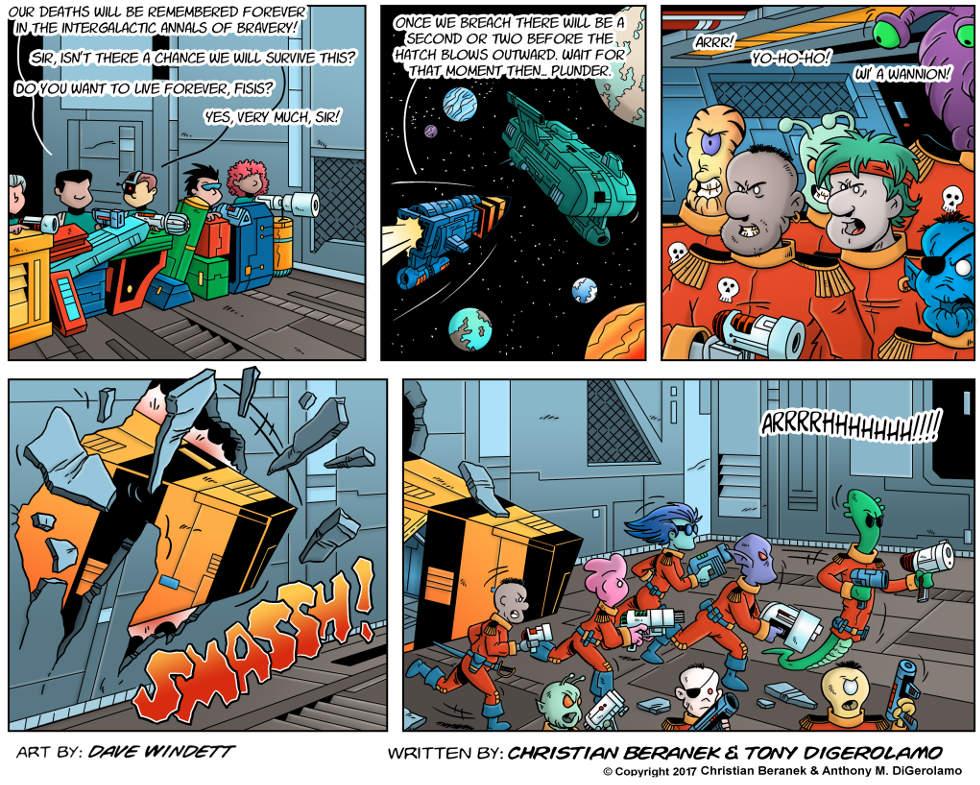 Intergalactic Medical Doctor:  The Breach