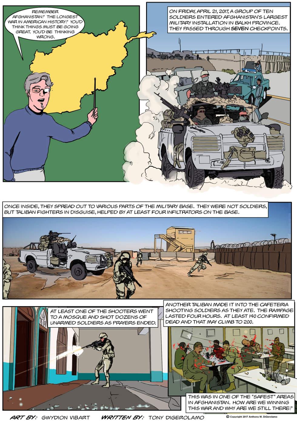 The Antiwar Comic:  The Longest War