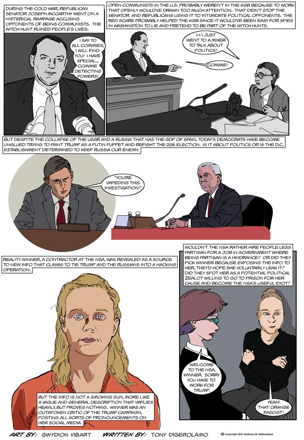 The Antiwar Comic:  Useful Idiots