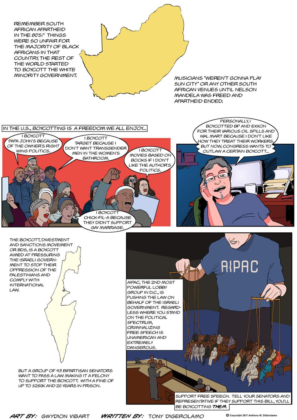 The Antiwar Comic:  The Boycott Boycott