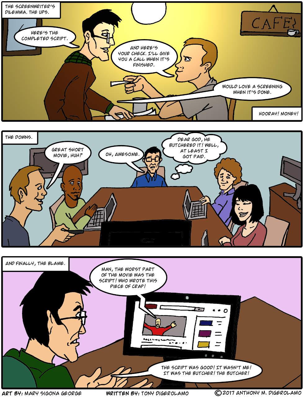 digital hobo:  Screenwriter's Dilemma