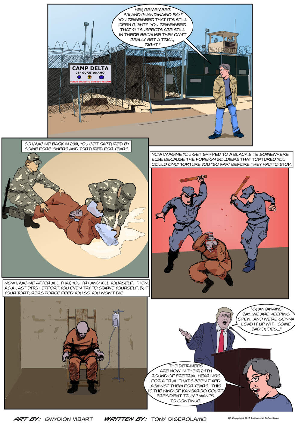 The Antiwar Comic:  This is What He Wants