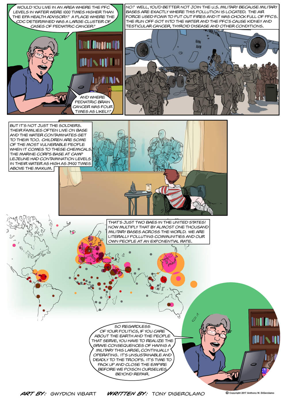 The Antiwar Comic:  Where Would You Live?