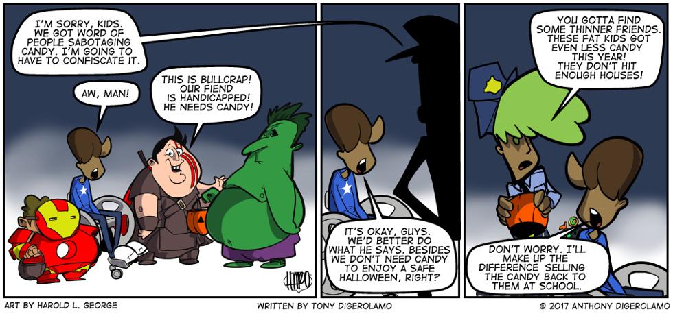 I Hate My Kids:  The Halloween Fix