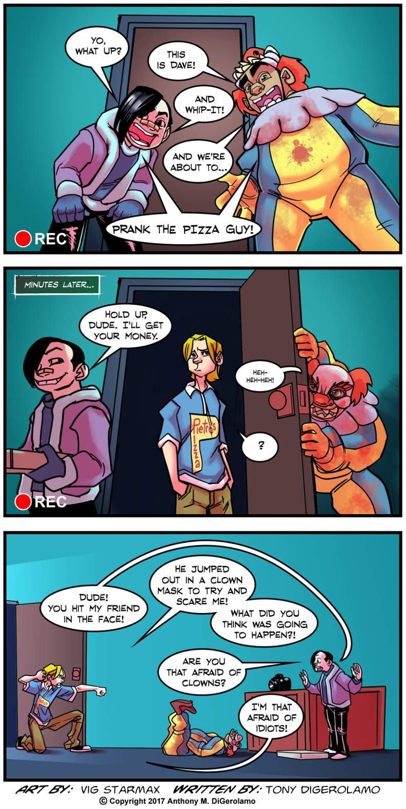 Tales of Pizza:  Pizza Prank