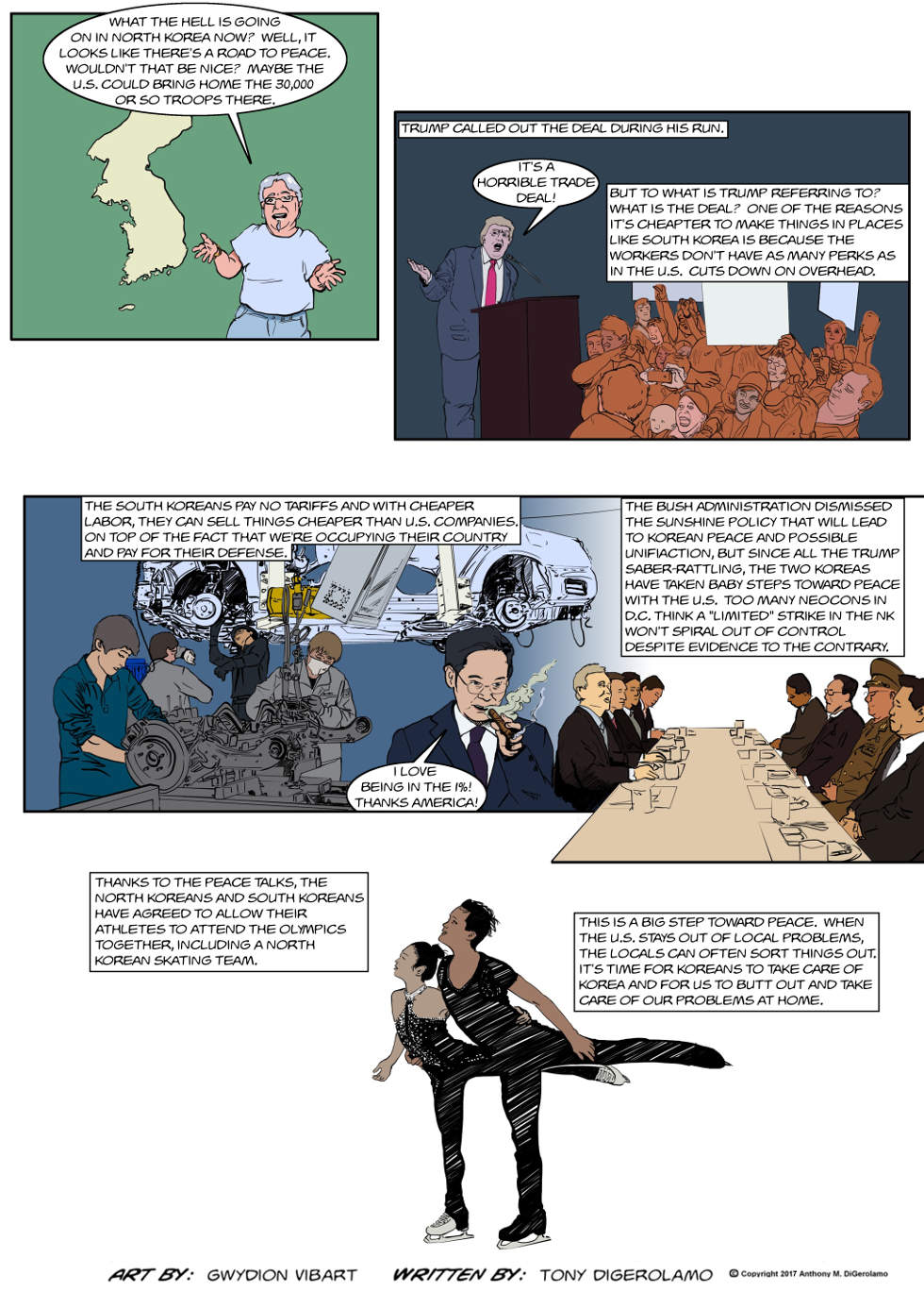 The Antiwar Comic:  The Korea Situation