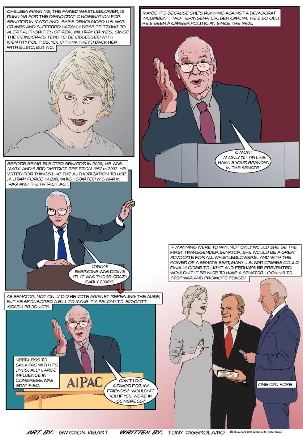 The Antiwar Comic:  Peace Candidate