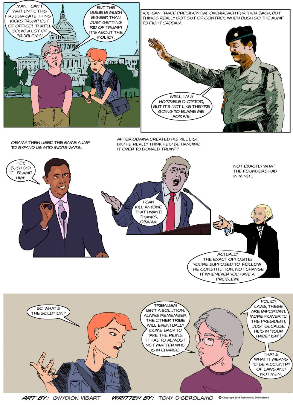 The Antiwar Comic:  A Country of Something
