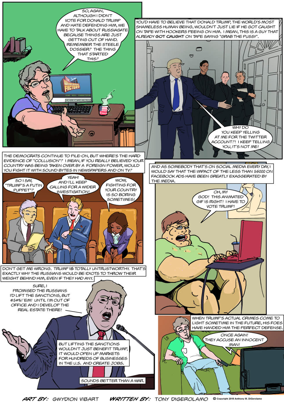 The Antiwar Comic:  Endless Russiagate War