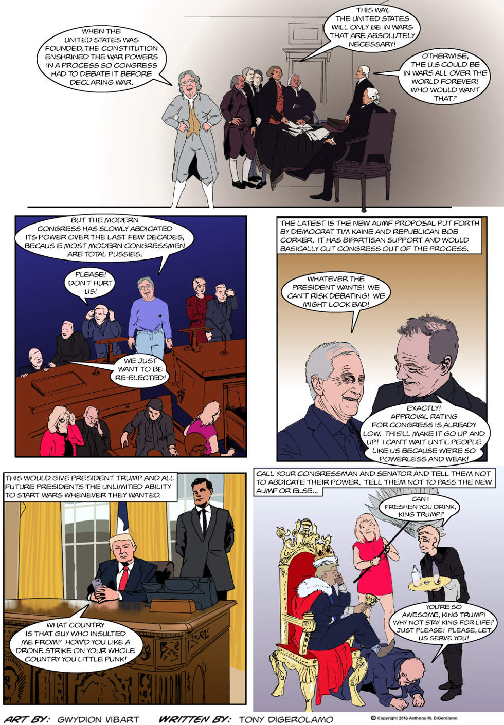 The Antiwar Comic:  Why We Hate Congress