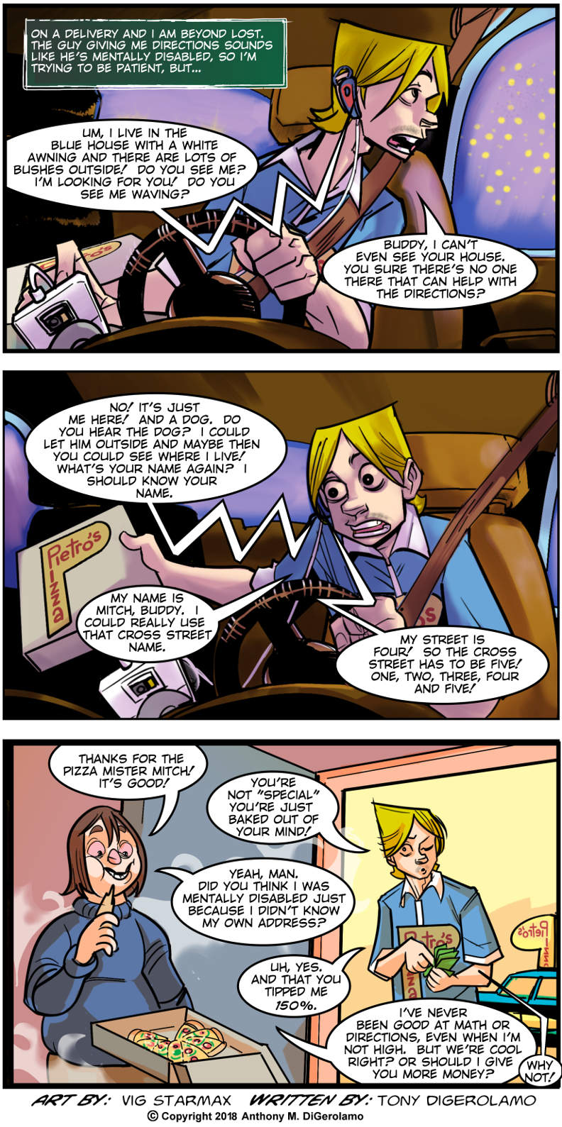 Tales of Pizza: Special Delivery – The Webcomic Factory