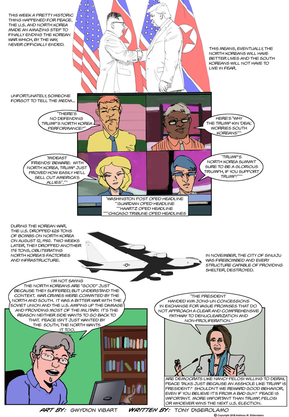 The Antiwar Comic:  The Perfect Peace Push
