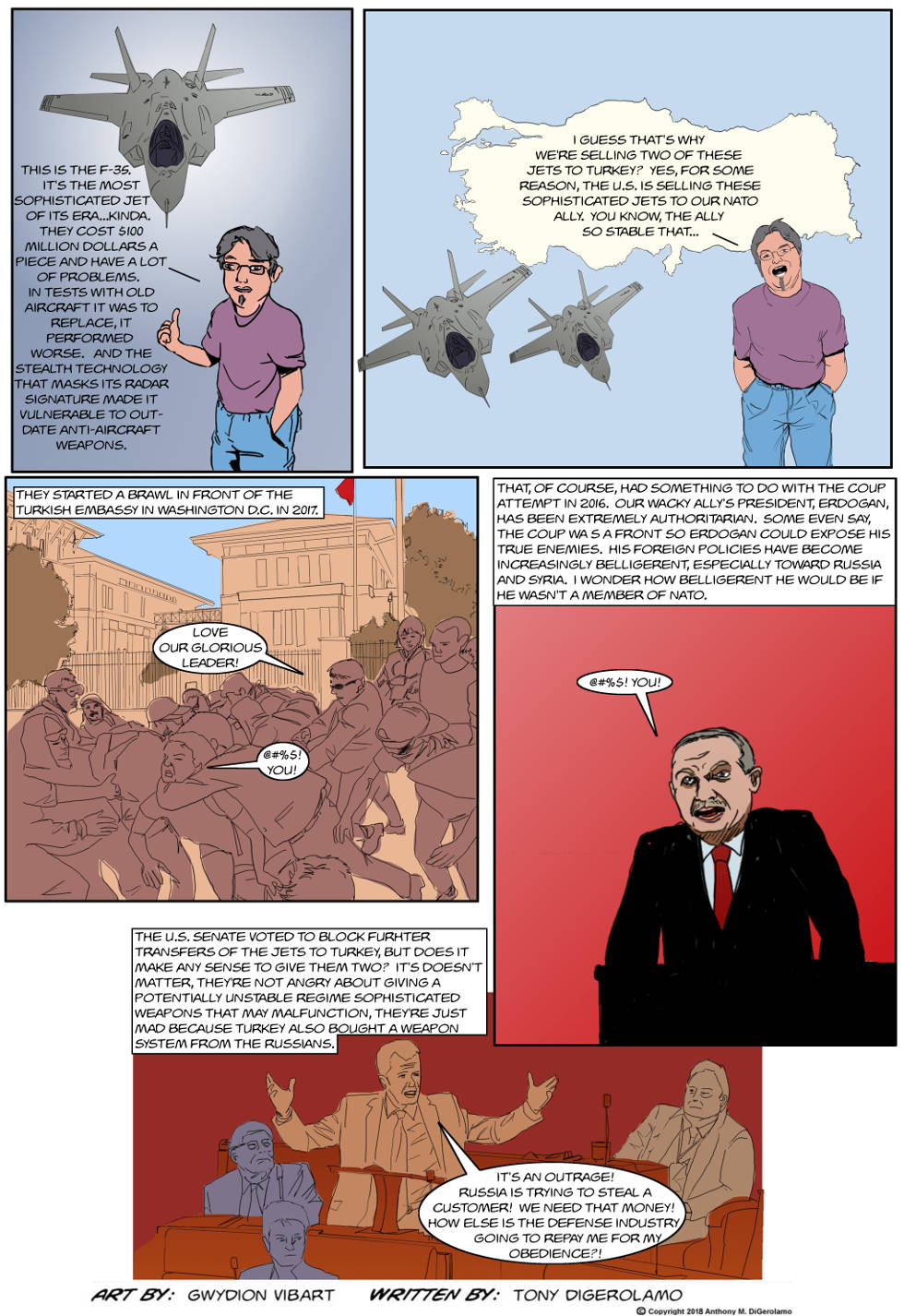 The Antiwar Comic:  Our Ally is a Turkey