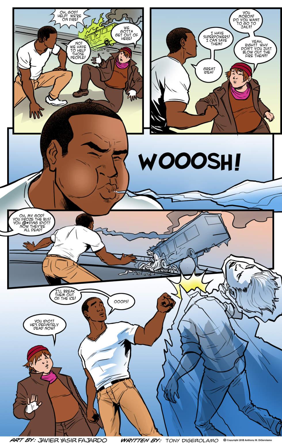 Herman Has Superpowers:  The Superhero Blew