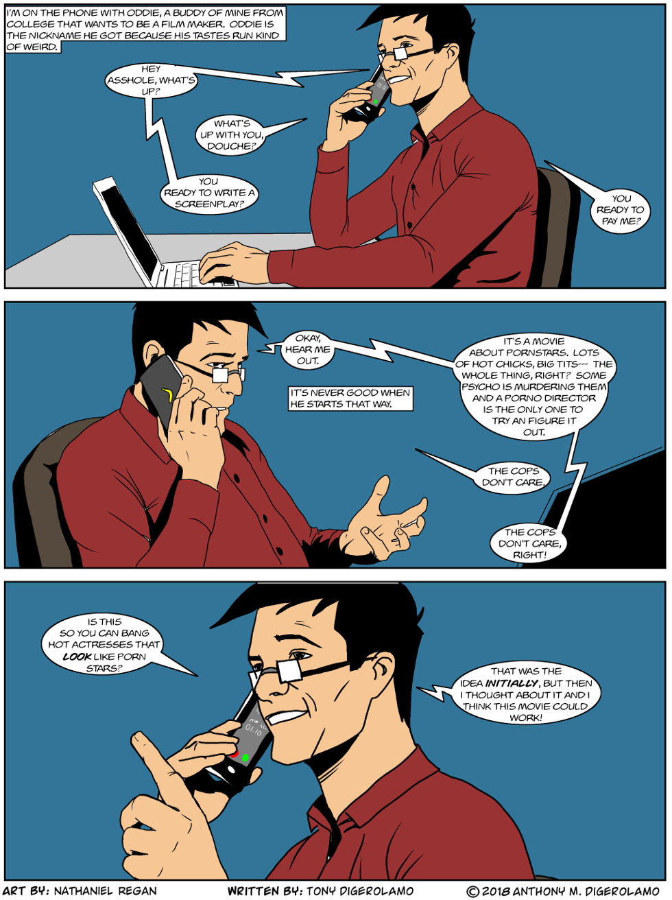 digital hobo: when friends pitch a movie – the webcomic factory