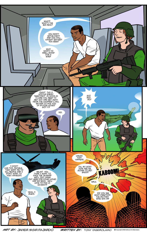 Herman Has Superpowers:  War Dropoff