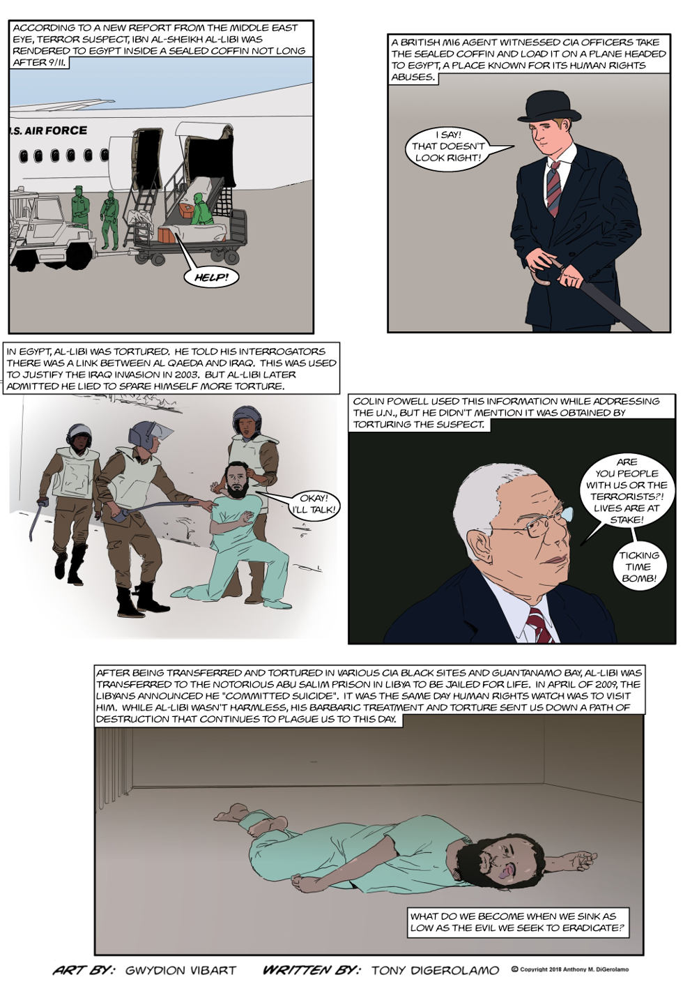 The Antiwar Comic:  Torture Still Doesn't Work