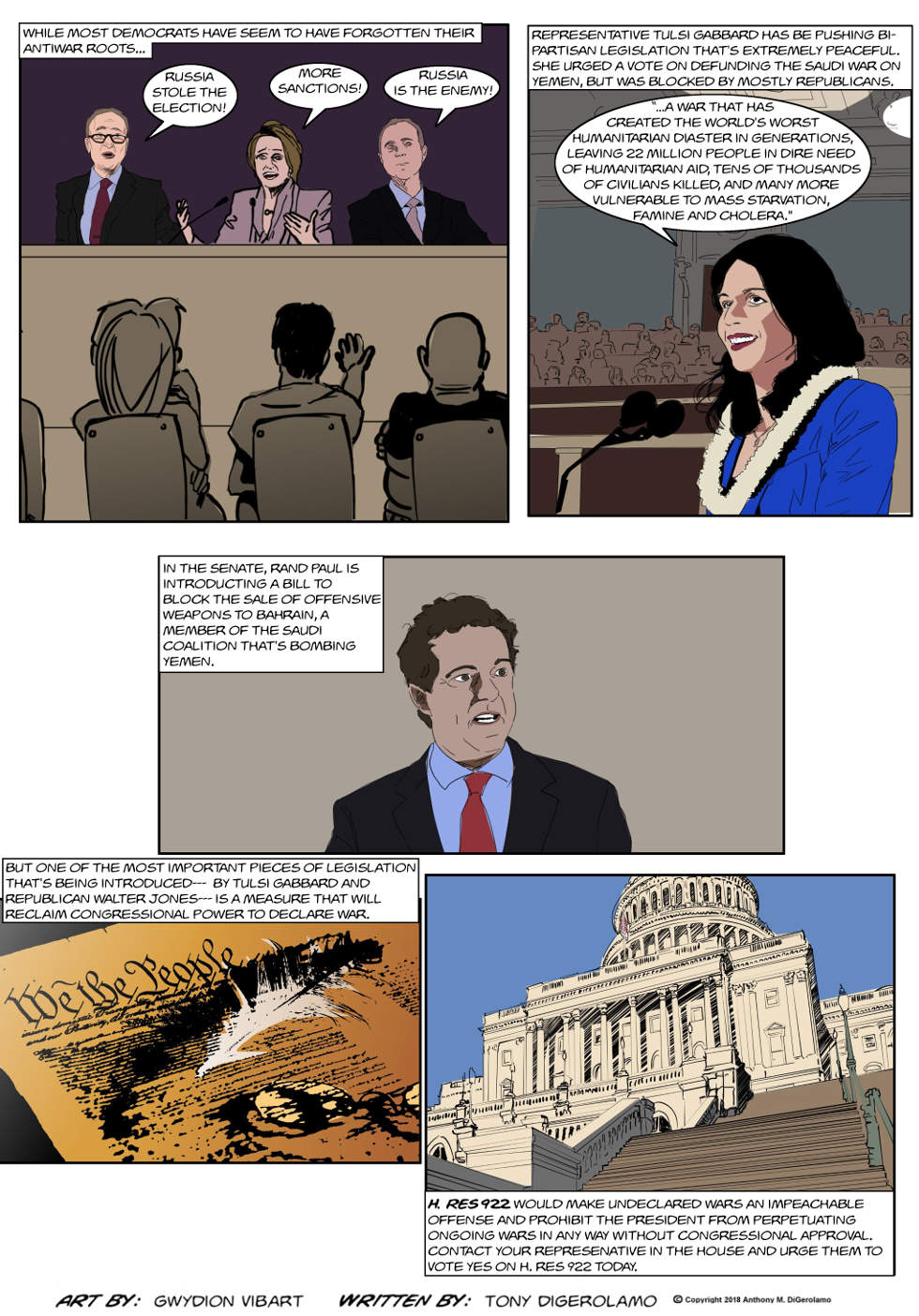 The Antiwar Comic:  Hope For Peace