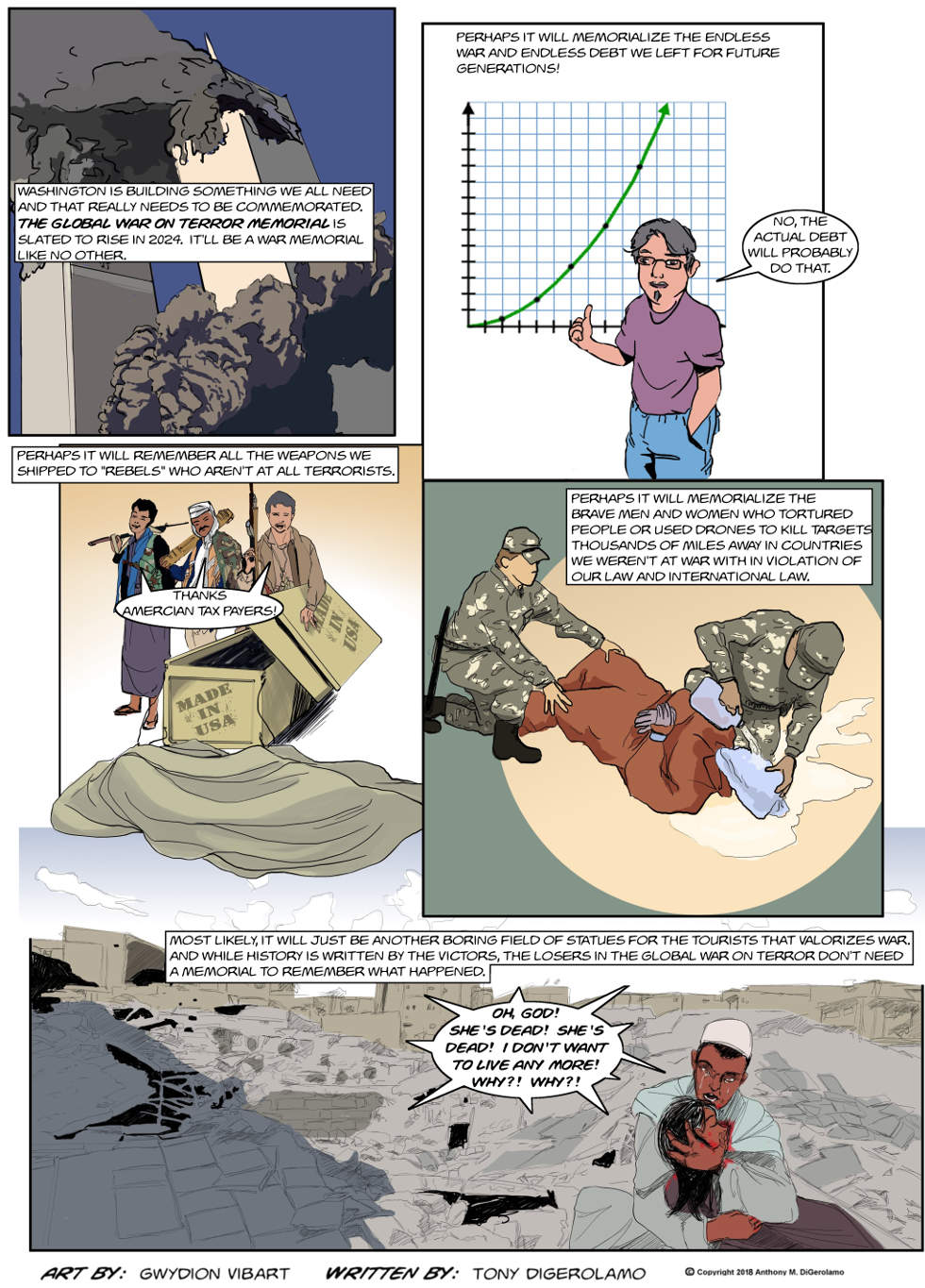 The Antiwar Comic:  The Global War on Terror Memorial