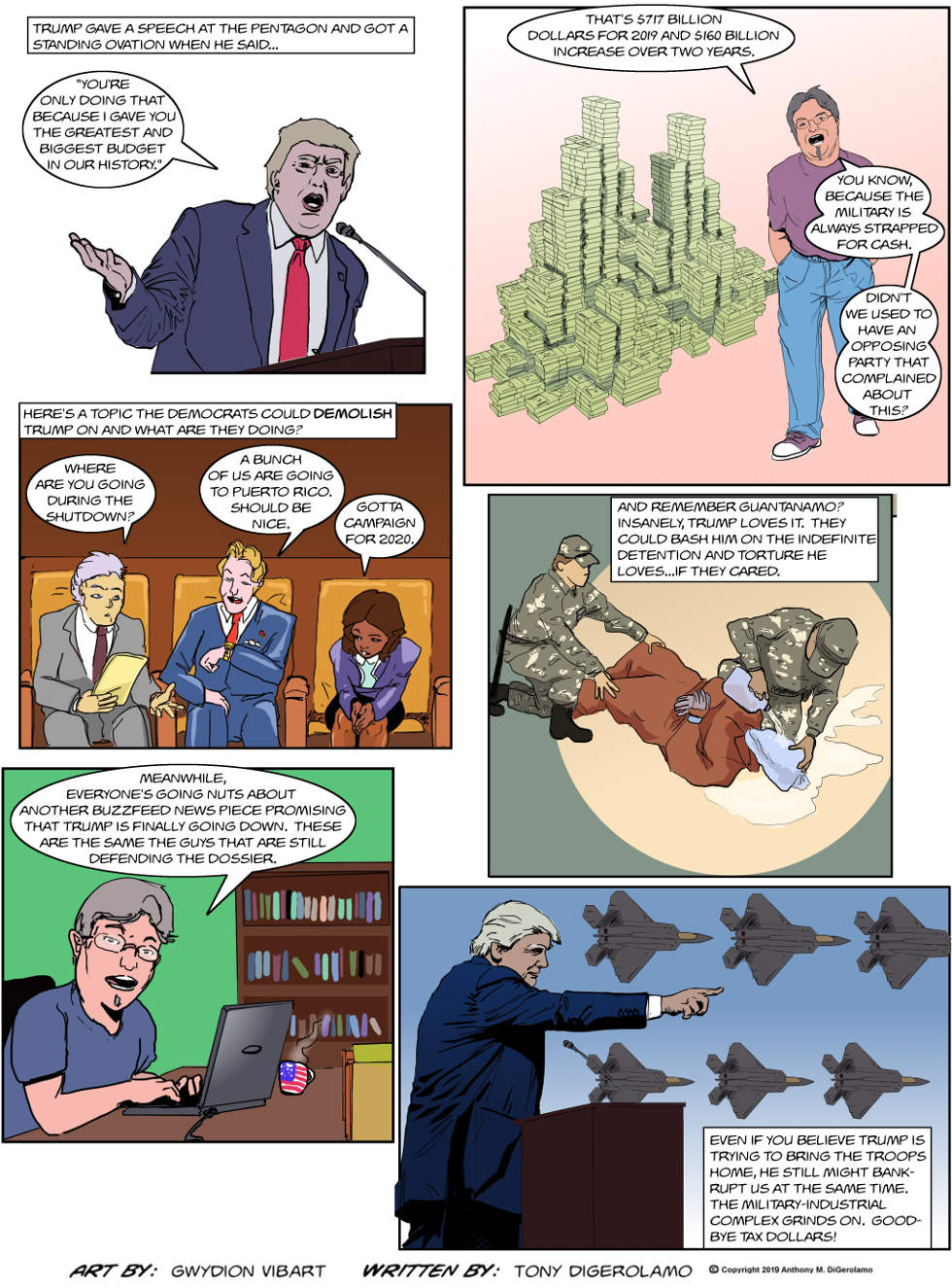The Antiwar Comic:  The Big Spender