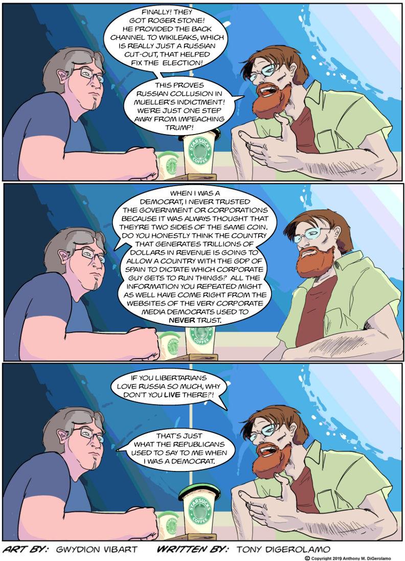 The Antiwar Comic:  Full Circle