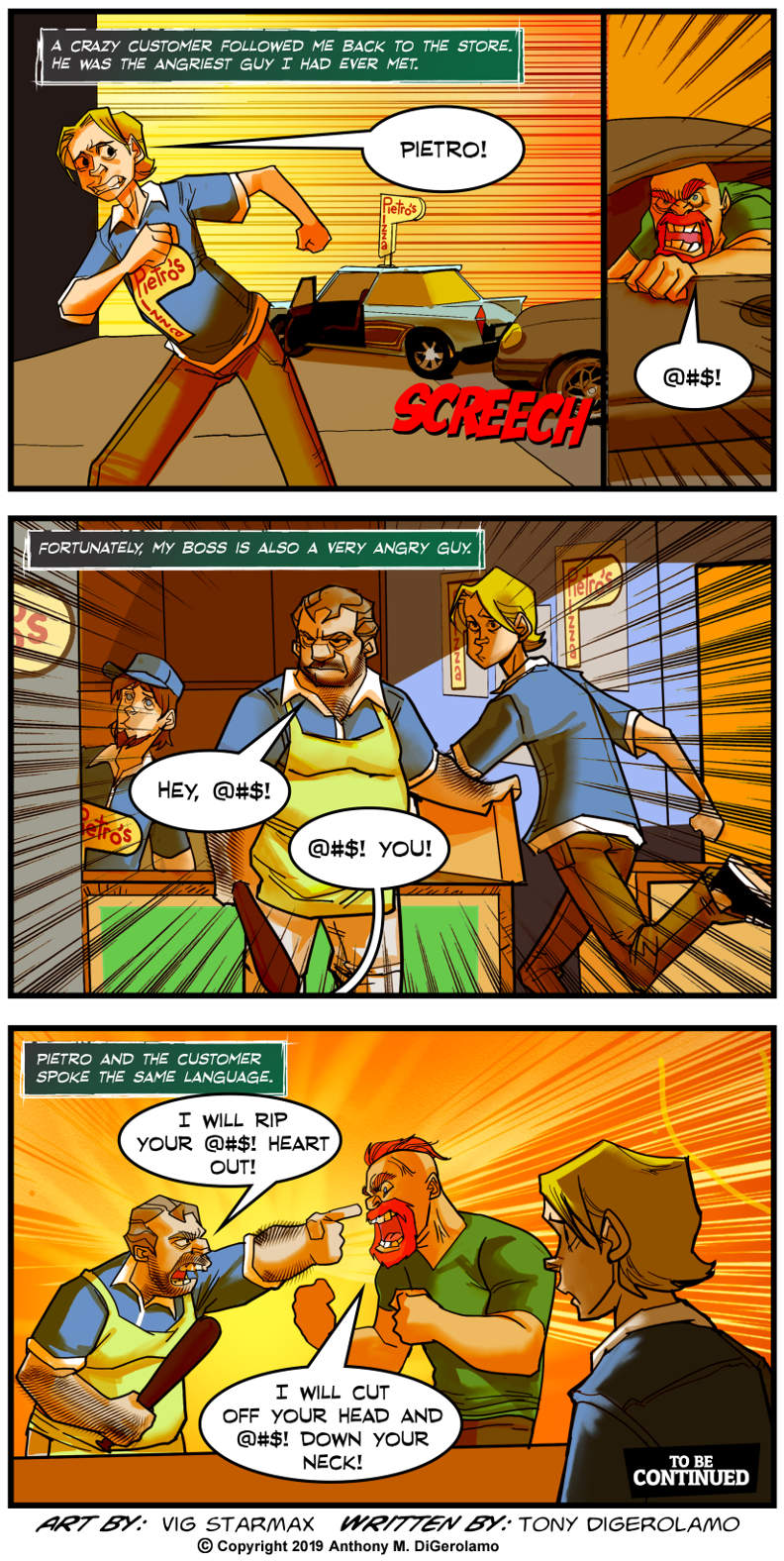Tales of Pizza: The Customer is Always Angry