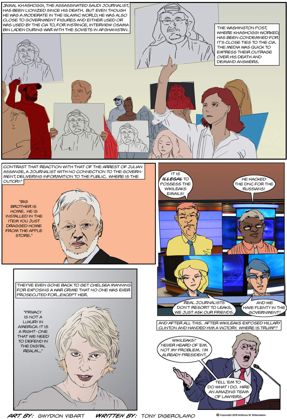 The Antiwar Comic:  Ungracious Winners