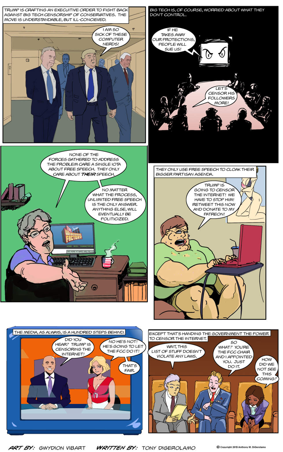 The Antiwar Comic:  Never Invite the Government In