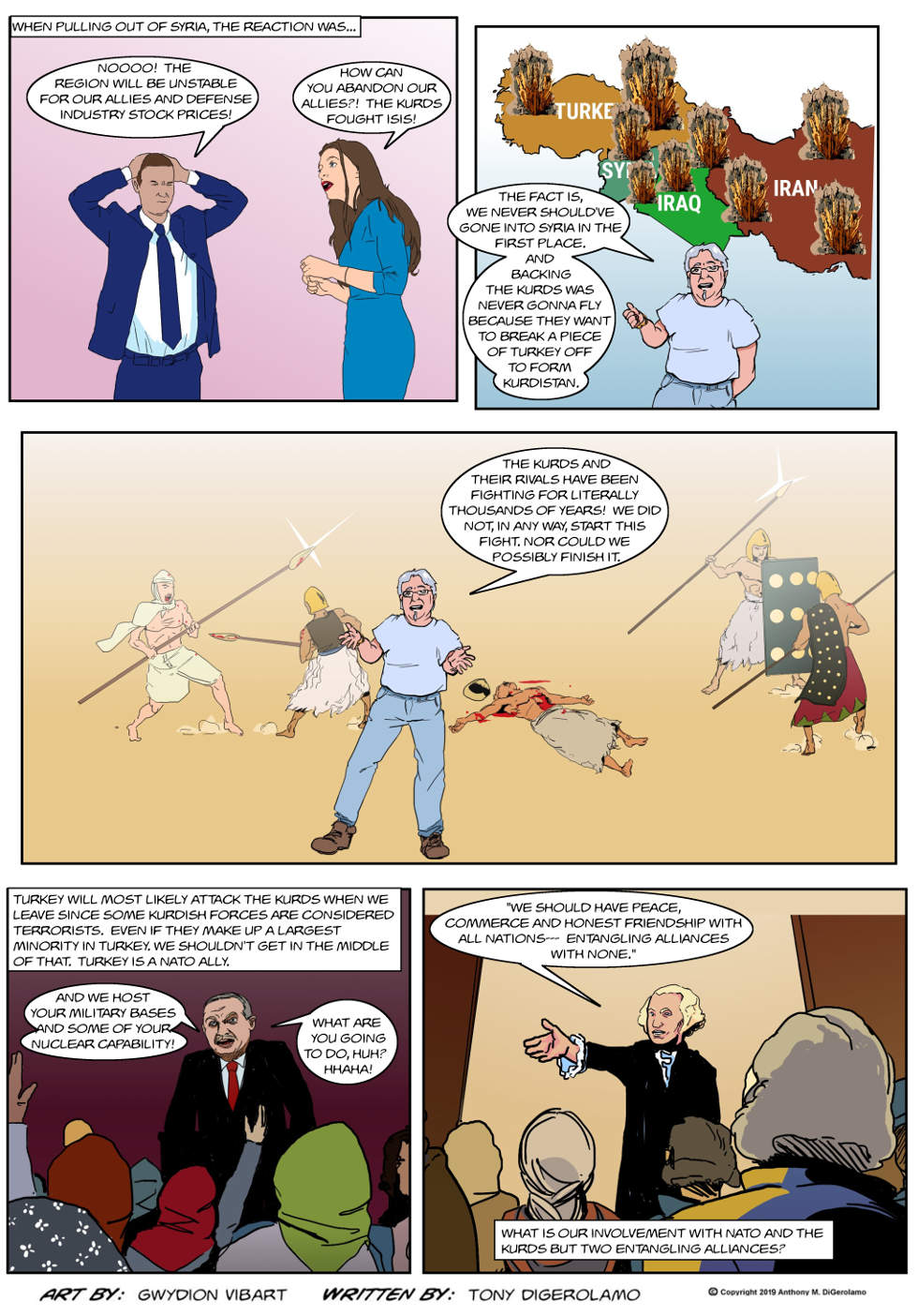 The Antiwar Comic:  The Kurds and Us