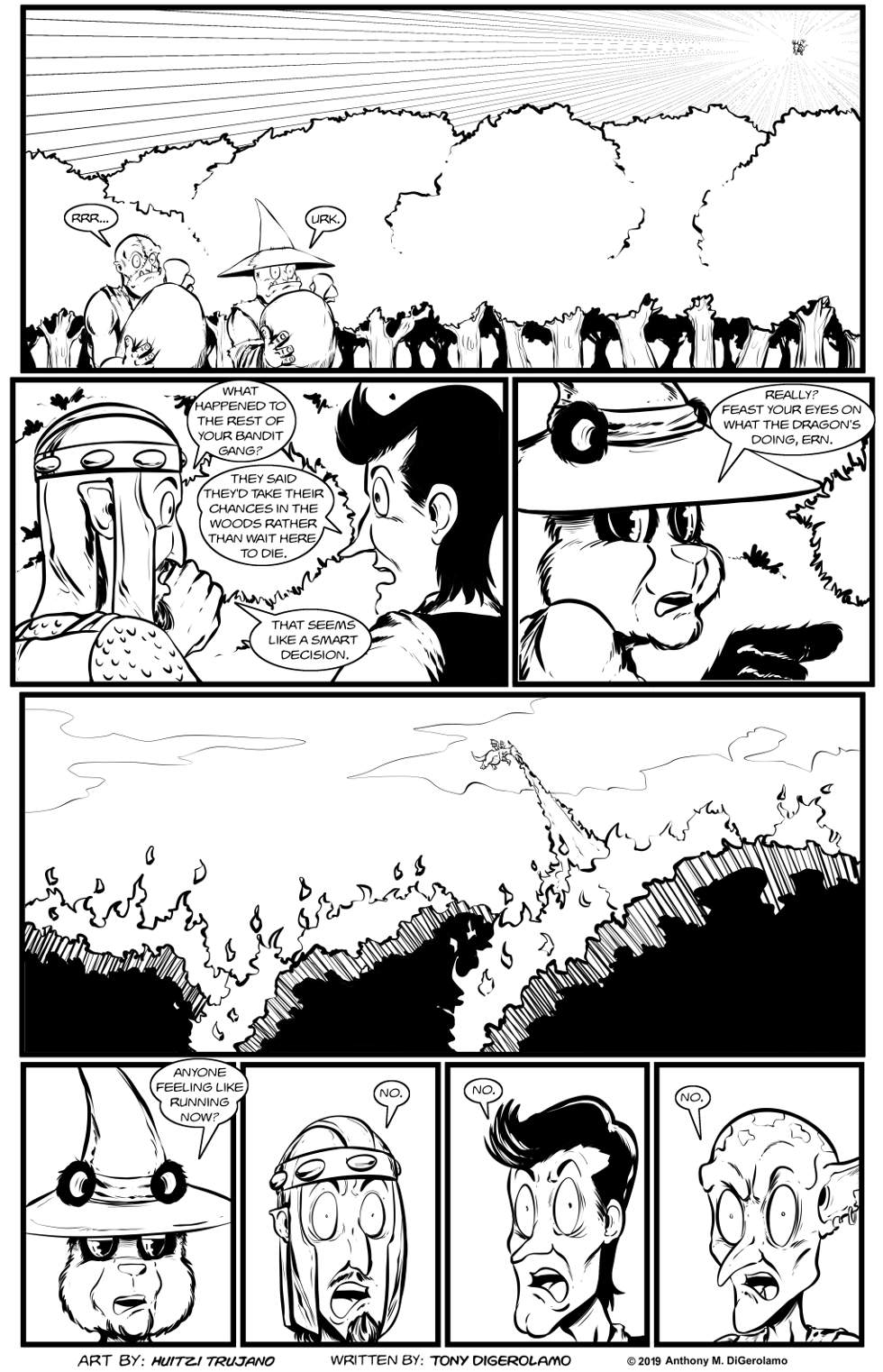 Pandamodium:  Running From the Dragon
