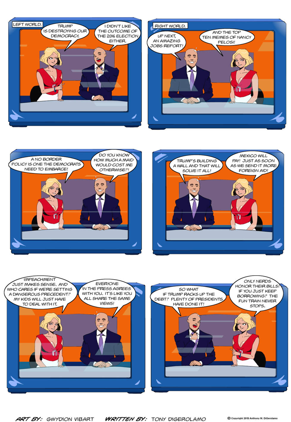 The Antiwar Comic:  Two Types of News