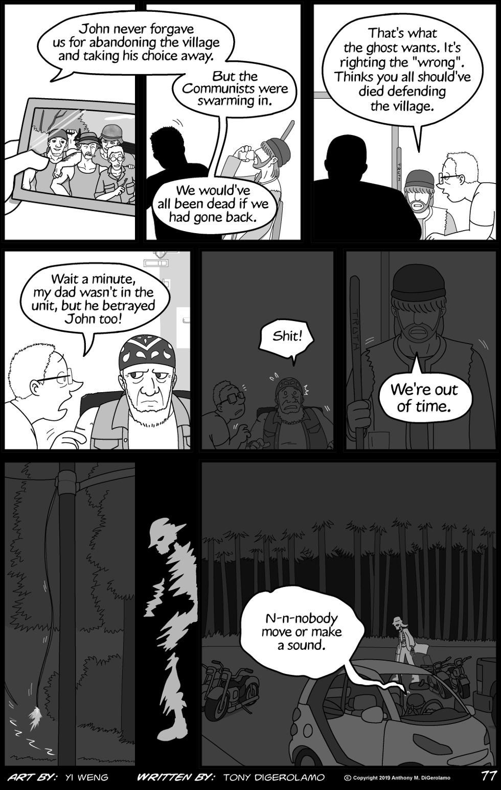 Lester Crenshaw is Still Dead:  The Ghost's Revenge