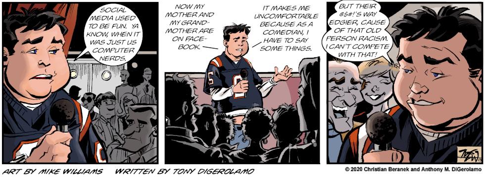 Miserable Comedians:  Edgier Material